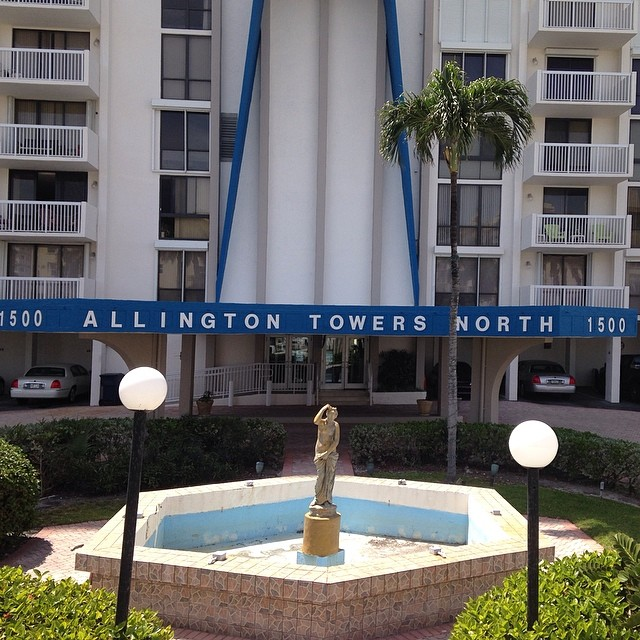 New Fountain renovation project we are starting for allington towers  #staytuned #bellasaquaticgardens #bellasponds #pondpirates #fountain #hollywoodbeach #newclient